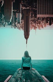 woman at the end of the world